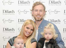 Джессика Симпсон с мужем Эриком Джонсоном и детьми фото