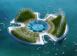 К 2020 году будет построен первый в мире плавучий город