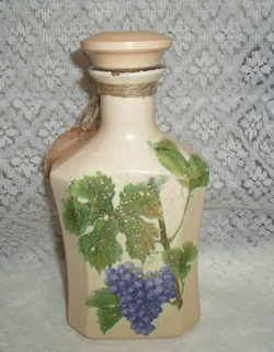 Бутылка «Виноградная гроздь»