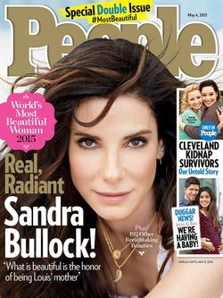 По мнению People, Сандра Буллок - самая красивая женщина в мире