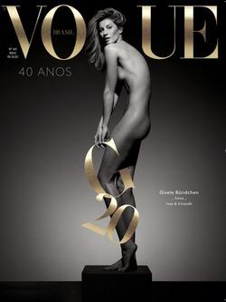 Голая правда: Жизель Бундхен отметила 20-летие в модельном бизнесе