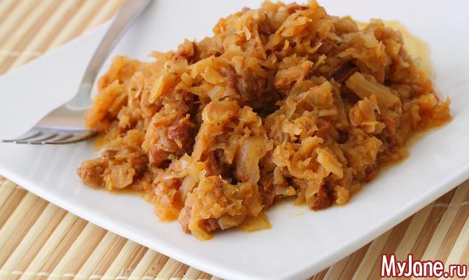 Польский бигос — аппетитное блюдо из капусты