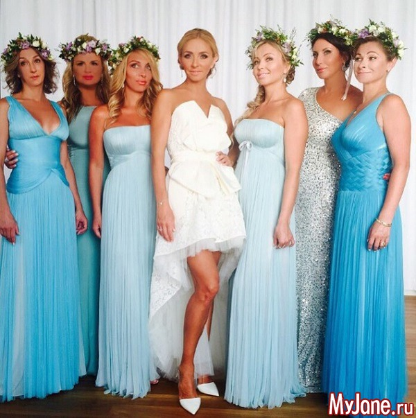Свадьба года: Татьяна Навка вышла замуж за Дмитрия Пескова