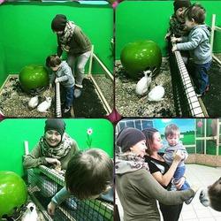 Наталья Фриске выложила новую порцию фото Жанны с малышом