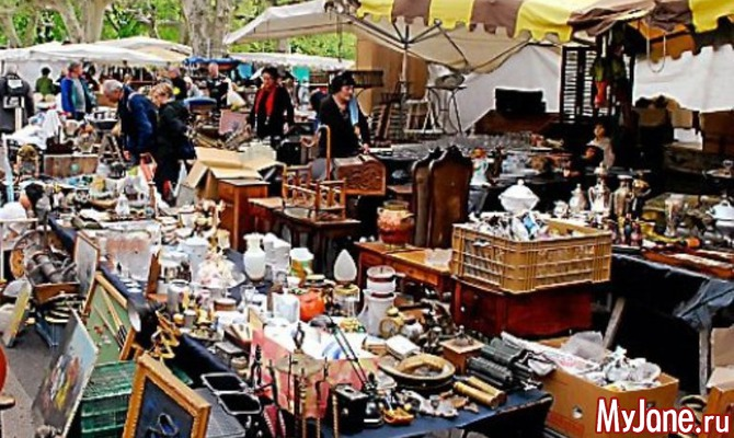 Музей, магазин, авантюра - поход на блошиный рынок