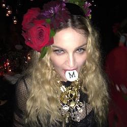 Как Мадонна отметила 57-летие