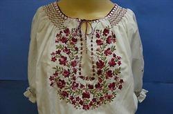 Венгерская национальная вышивка