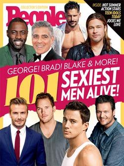 Кто из актёров самый сексуальный по мнению People?