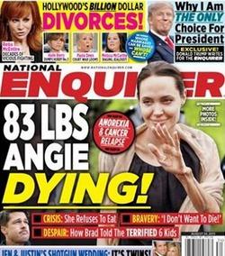 Таблоиды хоронят Анджелину Джоли
