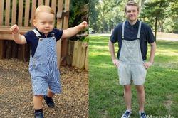 Британский журналист неделю одевался, как 2-летний принц Джордж