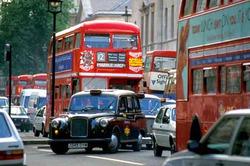 В Лондоне самый напряжённый трафик на дорогах