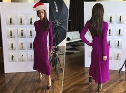 Виктория Бекхэм показала платье из своей новой коллекции