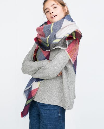 Асексуары шарф платок