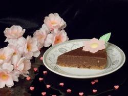 """""""Сырой"""" шоколадно-ореховый торт"""