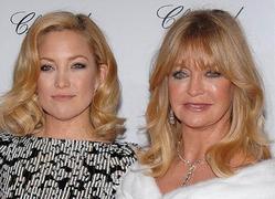 Кейт Хадсон берет пример со своей матери Голди Хоун