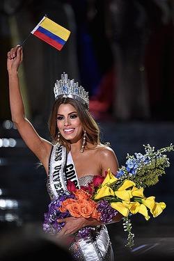 Мисс Колумбия на грани нервного срыва