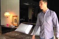 Криштиану Роналду показал свой дом в видеоролике (смотреть)