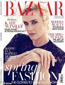 Harper's Bazaar убрал у Кейт Уинслет 10 кг при помощи Фотошопа