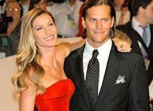 Жизель Бюндхен с мужем Томом Брэди фото