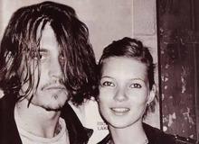 Кейт Мосс с Джонни Деппом фото