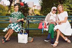 Бренд Kate Spade использовал приём с моделями-старушками