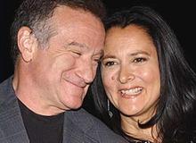 Робин Уильямс и вторая жена Марша Гарсес фото