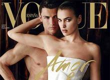 Криштиану Роналду и Ирина Шейк на обложке Vogue фото