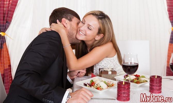 Шесть вариантов ужина для любимого