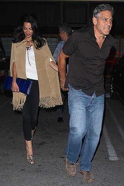 Джордж и Амаль Клуни любят друг друга и суши