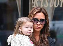 Виктория Бекхэм с дочерью Харпер фото