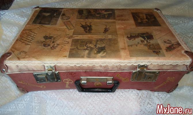 Ретро-чемоданчик, вторая жизнь