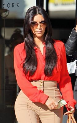 Ким Кардашян напрашивается в помощницы к Амаль Клуни