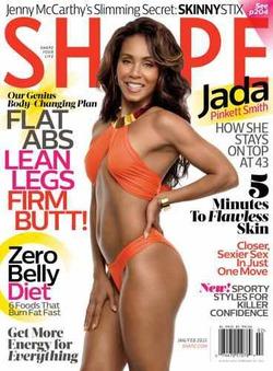 43-летняя жена Уилла Смита на обложке журнала в бикини