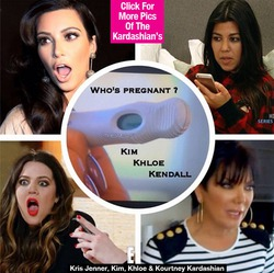 Загадка: кто из семейства Кардашьян ждёт ребёнка?