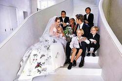 Джоли и Питт поженились еще до церемонии во Франции
