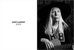 Бренд Yves Saint Laurent представляет 71-летняя Джони Митчелл