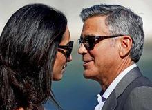 Джордж Клуни с женой Амаль Аламуддин фото