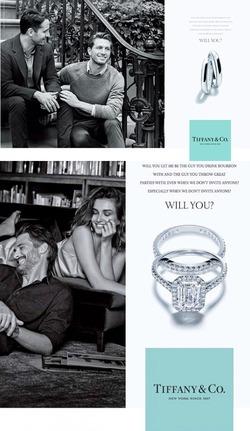 Бренд Tiffany&Co. представил обручальные кольца для представителей меньшинств