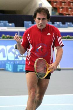 Грузинский теннисный турнир Кавкасиони в Москве! Заури Абуладзе