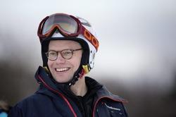 Принц Даниэль на лыжах 15 января 2015