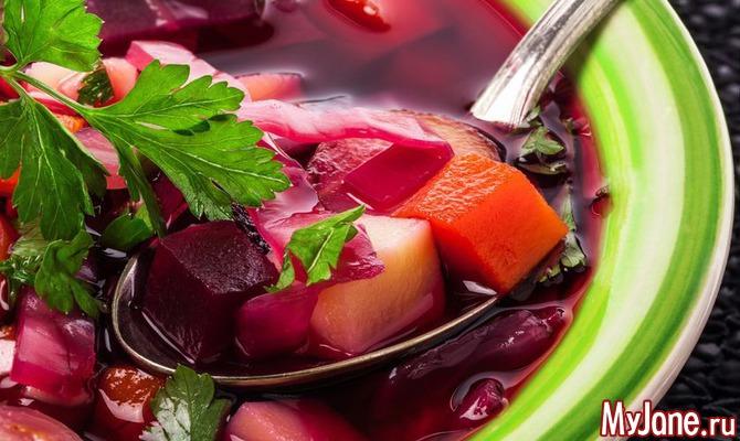 Меню, обеспечивающее организм витаминами
