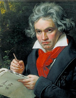 Великий Людвиг ван Бетховен писал музыку под стук сердца