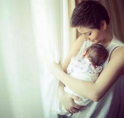 Мария Кожевникова родила второго сына