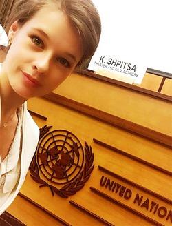 Катерина Шпица выступила с докладом на конференции ООН в Женеве