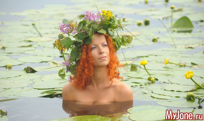 Только в ночь на Ивана Купалу цветет папоротник