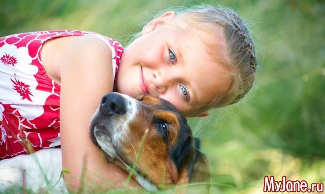 Собака и ребенок – вместе веселее! Какие породы выбрать?