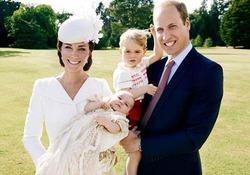 Крестины маленькой Шарлотты: первые официальные снимки