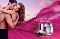 Наталья Водянова в рекламе обновленного парфюма Calvin Klein