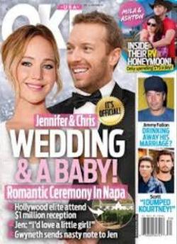 Дженнифер Лоуренс выходит замуж за Криса Мартина?