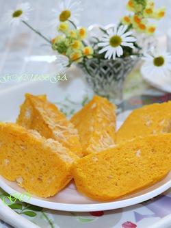 Суфле из тыквы и моркови в микроволновке